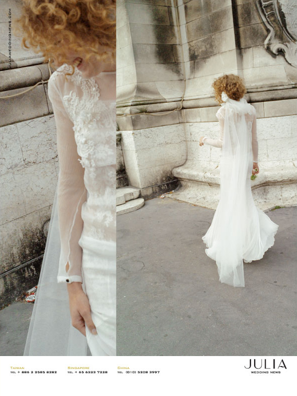 Julia Wedding News S/S 2011 Ad Campaig