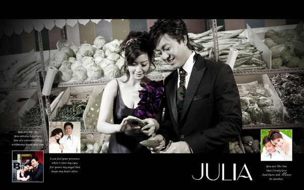 《JULIA‧作品》幸福新人‧XXXIII