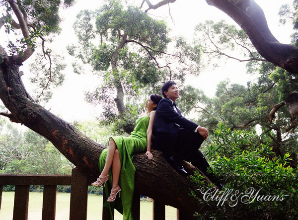 資料來源:[C&Y's Big Day] 婚紗照的經典演繹