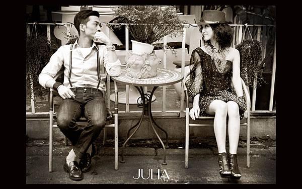 《JULIA‧作品》幸福新人‧XLIX
