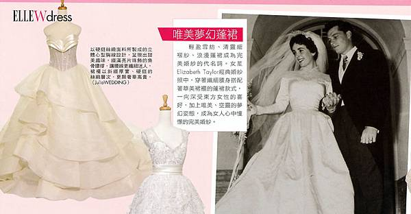 資料來源:ELLE WEDDING
