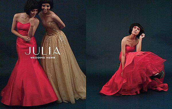 Julia Wedding News f/w 2014 - advertising campaign