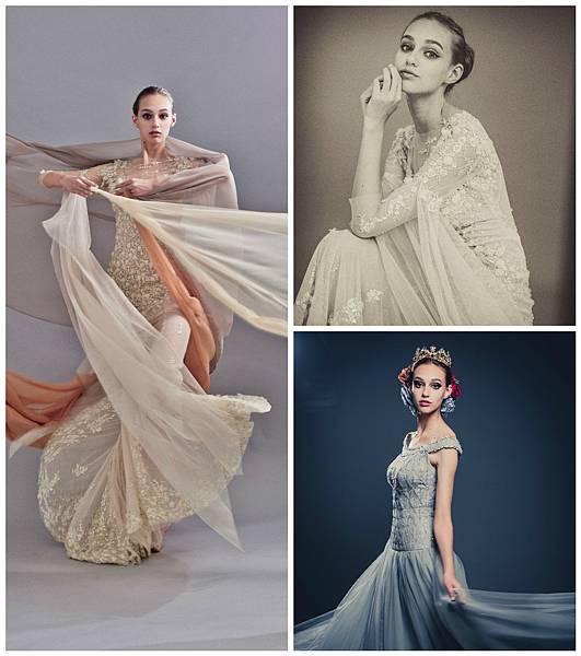 Julia Wedding News新婚情報 裸紗刺繡禮服