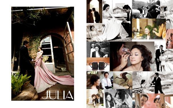 《Julia‧作品》幸福新人 VII