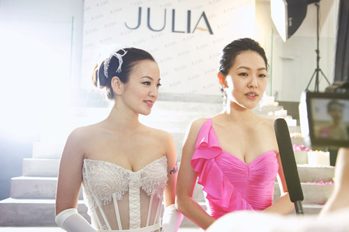 《JULIA‧禮服》小S‧阿雅‧JULIA北京開幕