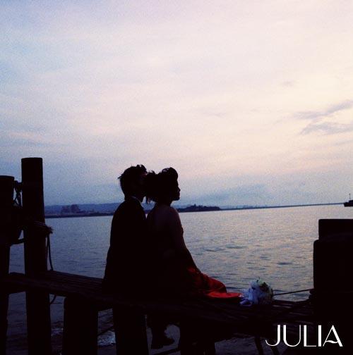 《JULIA‧作品》幸福新人 X