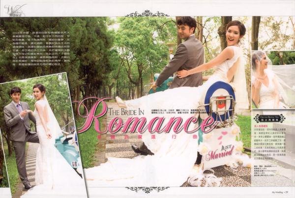 資料來源:2008.May 壹週刊 My Wedding