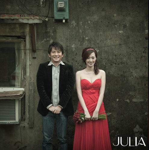 《JULIA‧作品》幸福新人‧XXI