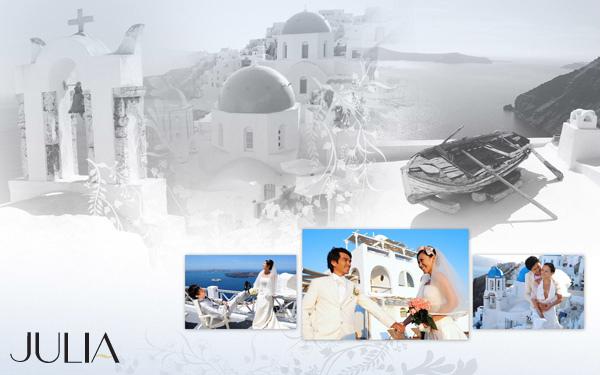環繞世界拍愛情‧希臘蜜月之旅I