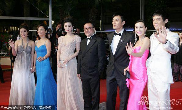 資料來源:新浪娛樂前方報導組發自戛納/圖片來源:China Foto Press