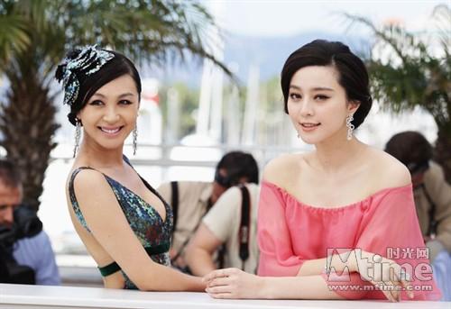 資料來源:Mtime時光網/《日照重慶》坎城首映 范冰冰李菲兒雙姝爭豔