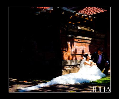 《JULIA‧作品》幸福新人‧峇里島