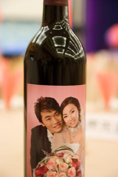 這次最珍貴的照片紅酒
