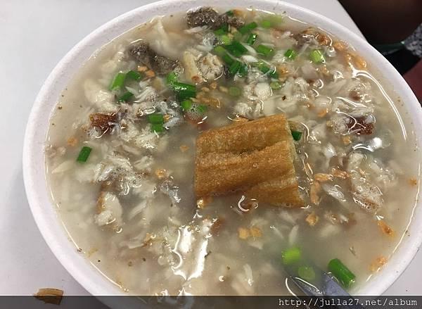 台南早餐 來台南必吃的早餐「阿堂鹹粥」超級新鮮又美味!