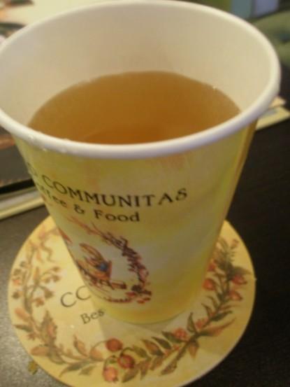 免費的露水茶  不怎麼習慣這味道