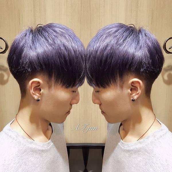 薰衣草紫灰色