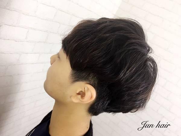 韓系髮型,三七分.jpg