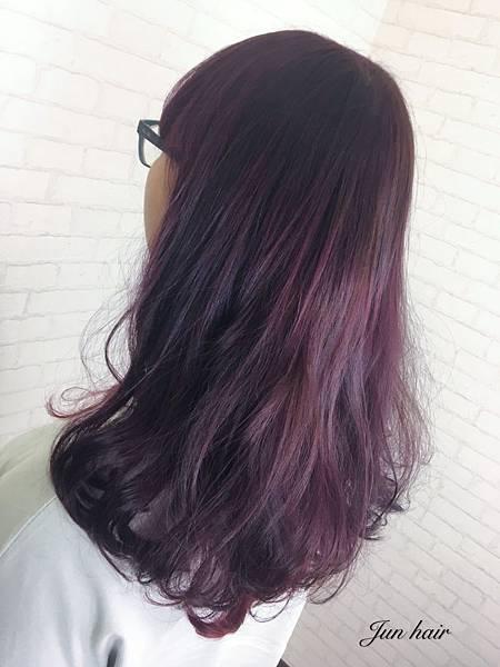 紫紅色,雲朵燙髮,溫朔熱燙.jpg