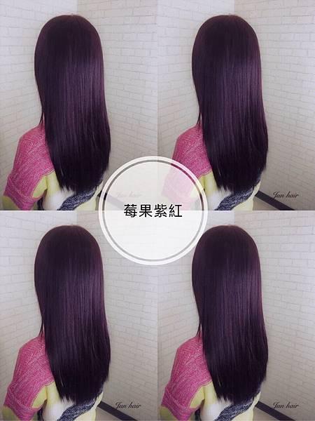 莓果紫紅色,質感色系推薦,女生染髮推薦.jpg