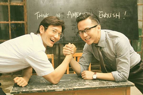【海闊天空-中國合伙人】-黃曉明(左)&鄧超(1)
