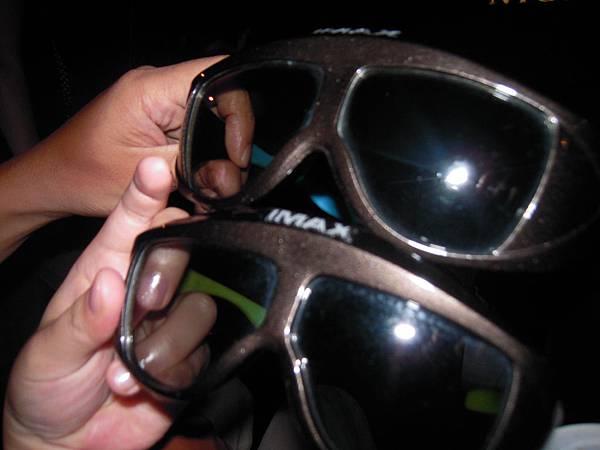 第一次看3D電影