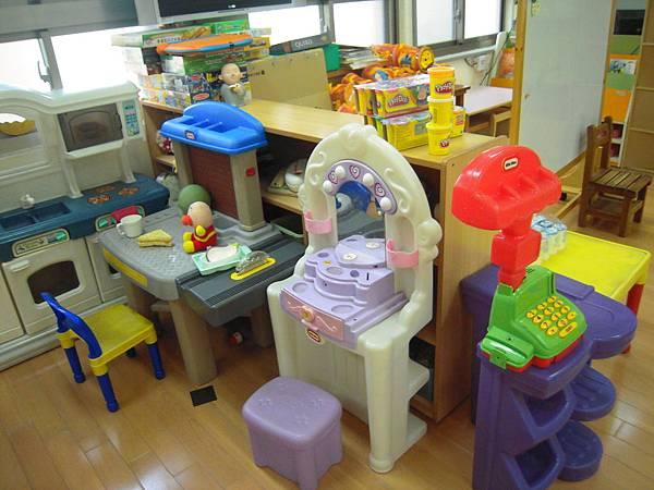 教室裡的玩具