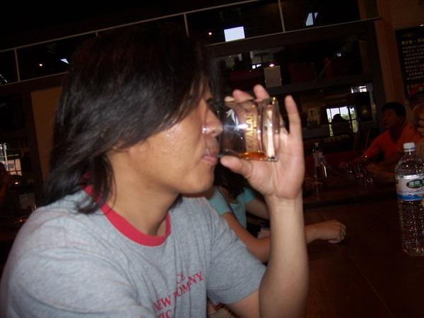 試喝噶瑪蘭威士忌