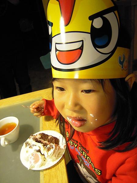 超愛吃蛋糕