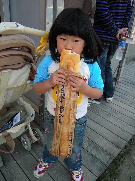 好長的麵包