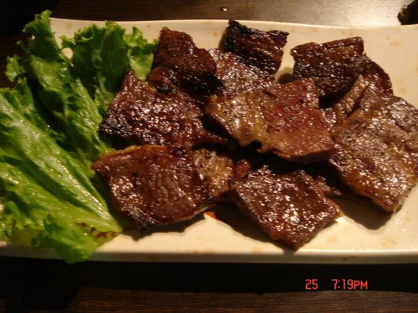 燒烤牛肉吧~