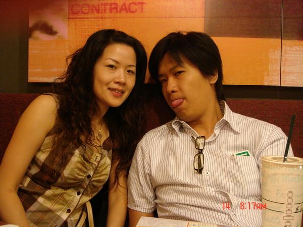 毛及雅文(要出發前在機場喝個咖啡吧~)