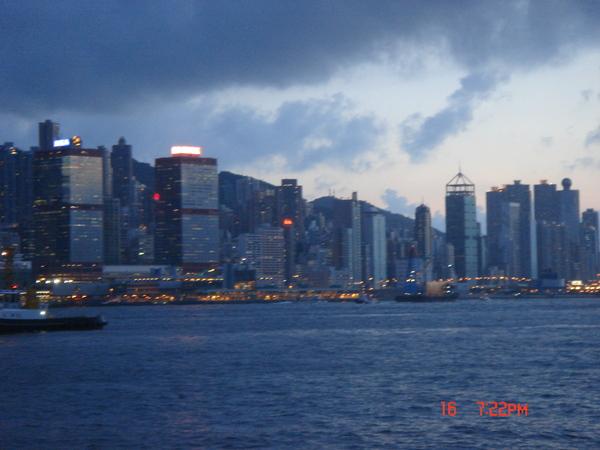 好漂亮的香港....