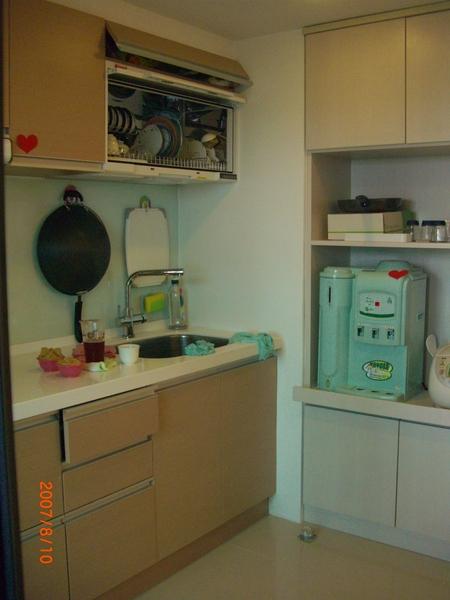 廚房另一面