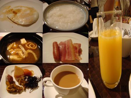 第二天君君在飯店吃的早餐..很多啦..但我只拿我愛吃的~