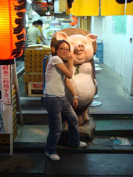 你覺得他口愛嗎..??呵..老闆還用中文和我說..可以拍照..真口愛~