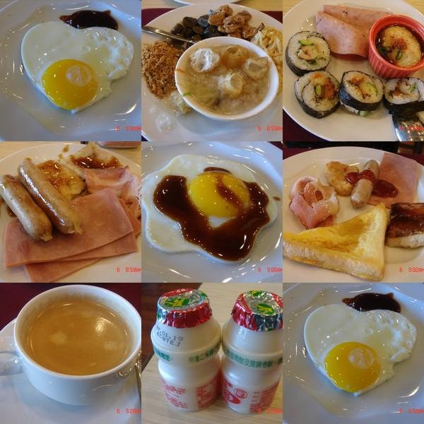 飯店早餐..好好吃唷~