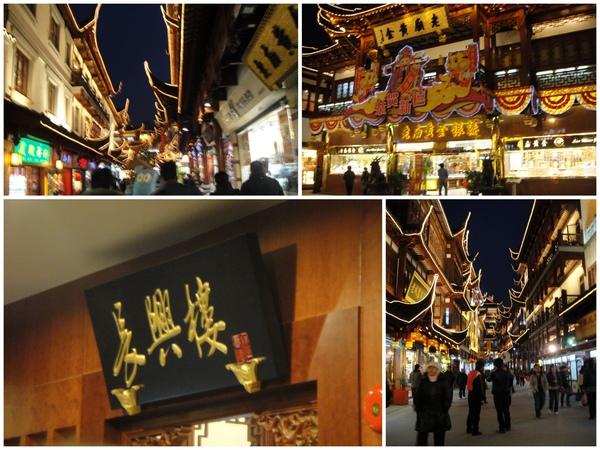 """晚餐..回到了""""豫園""""最有名的..""""南翔饅頭店""""..讚~~~必吃~"""