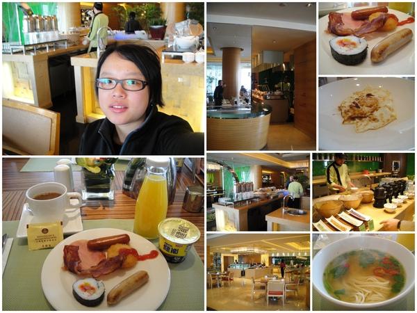 飯店的早餐..不錯吃唷~~~