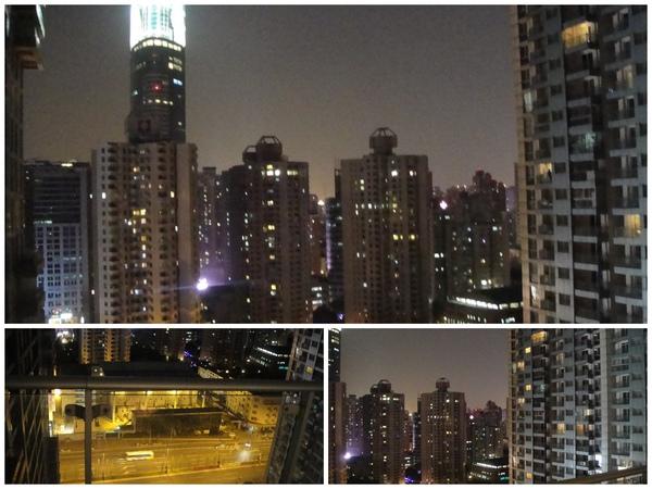 飯店窗外的景色...很美~~~
