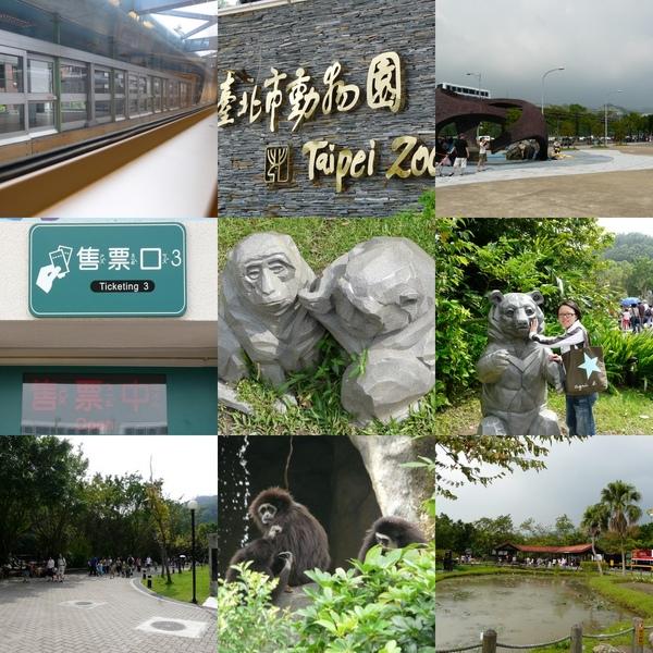 Taipei Zoo到囉