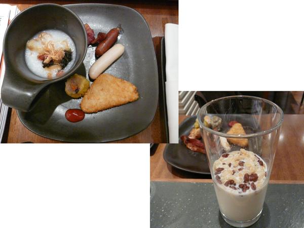 飯店的早餐~~嘖嘖~貴唷~