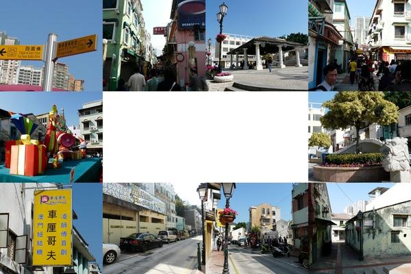 古風及新建築交錯的街道~很特別~