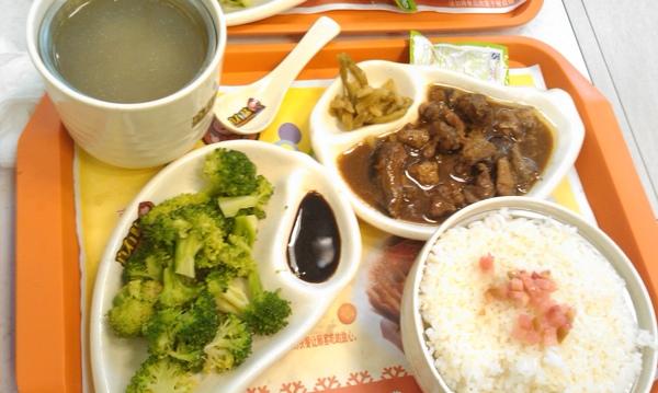 """Day4_晚餐吃陸式簡餐..依舊很鹹..>""""<"""