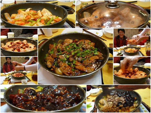 "Day6_現場煮的感覺..蠻好玩的~這鍋是""雞翅+羊肉""~~好吃~~"