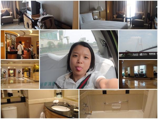 飯店到囉..(上海巴黎春天酒店)
