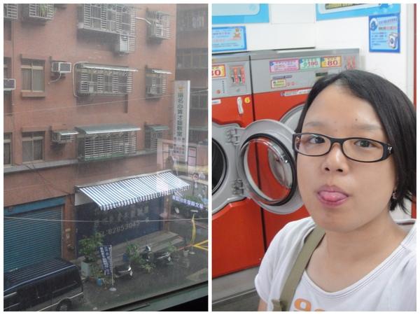 2009/07/26大掃除之自助洗衣去~