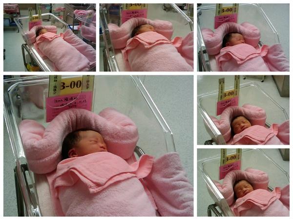 20091212琇如baby出生囉~