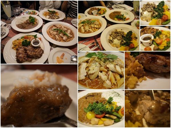 滿滿的一桌菜,超讚~