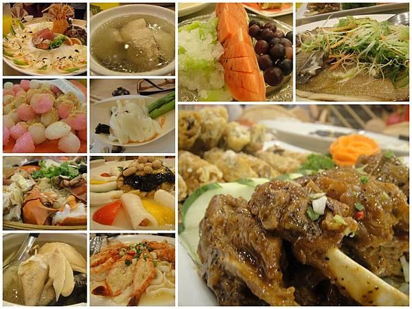 滿滿的菜..三個人吃..哈..