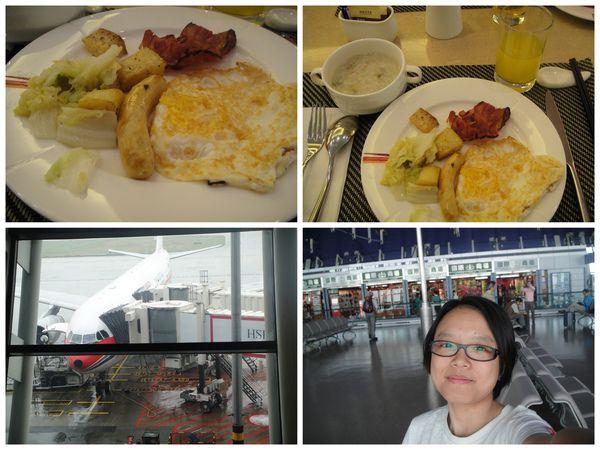 第四天的上午..早餐吃完要回台北囉~